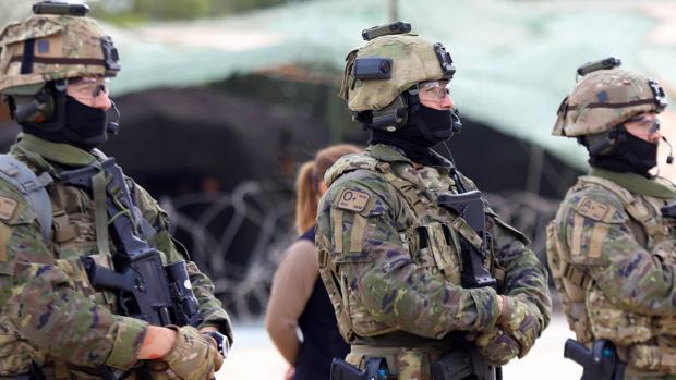 Efectivos del Mando de Operaciones Especiales del Ejército español, en una imagen de archivo