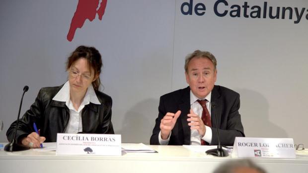 Responsables del CAC y de entidades contra el suicidio, el día que presentaron su informe sobre contenidos que incitan a la muerte