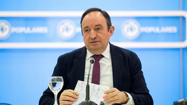 El expresidente riojano Pedro Sanz, el pasado mes de marzo