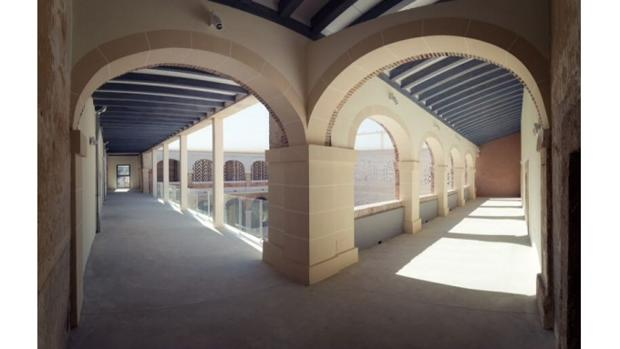 Estado actual del claustro del convento