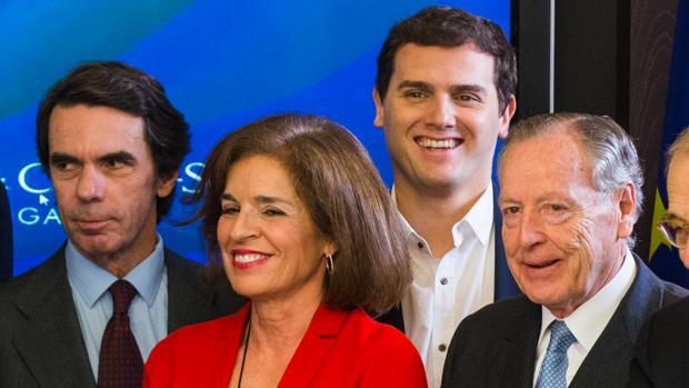 Rivera clausurará unas jornadas del Máster de Liderazgo de Aznar