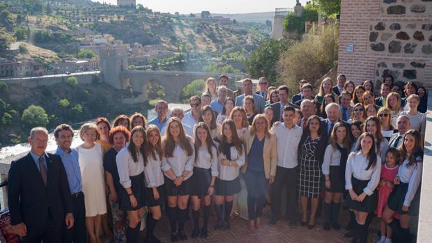 Primera promoción del Bachillerato Internacional del colegio San Patricio de Toledo