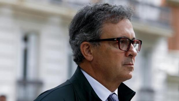 Pujol Ferrusola tras su declaración en la Audienxia Nacional el pasado mes de abril