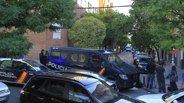 La operación fue desarrollada de madrugada por la Policía Nacional