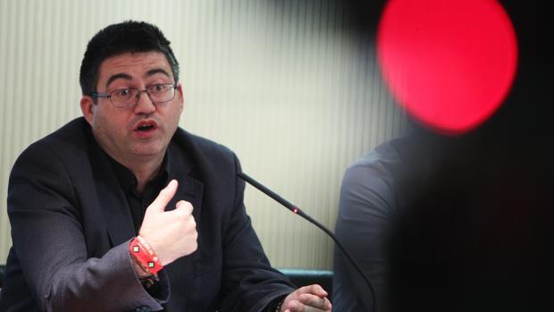 El concejal de Economía y Hacienda del Ayuntamiento, Carlos Sánchez Mato