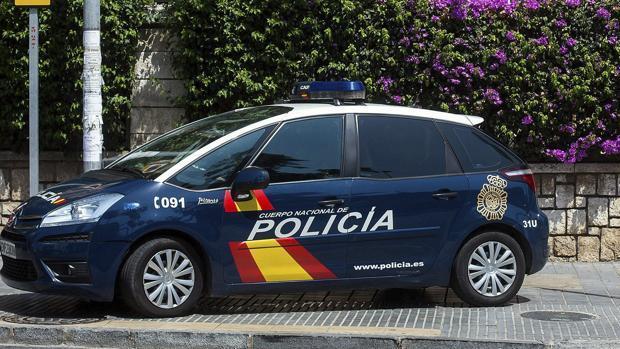 Imagen de archivo de uina patrulla de la Policía Nacional
