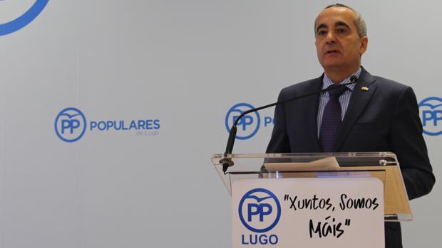 Ramón Carballo, subdelegado del Gobierno en Vigo, asume la presidencia del PP local de Lugo