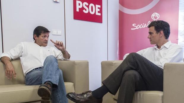 La última reunión entre Sánchez y Fernández en Ferraz tuvo lugar en julio de 2014
