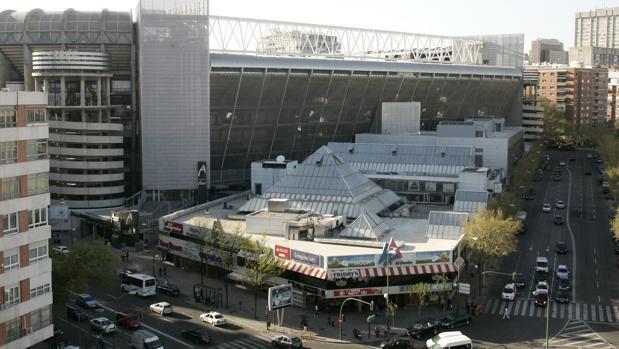 Vista aérea de La Esquina del Bernabéu