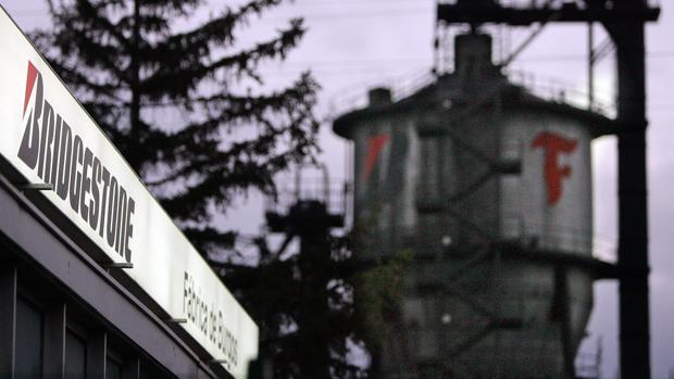 Sede de la factoría de Bridgestone, en Burgos