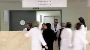 Imagen de archivo de la zona de admisión del hospital La Fe de Valencia