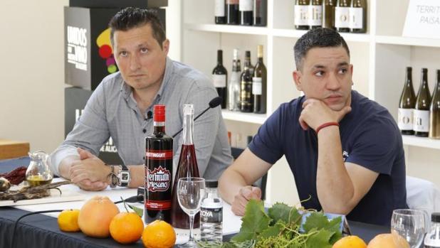 Kiko Moya y Alberto Ferruz, en la presentación de la muestra Dolia de este año