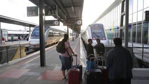 Imagen de archivo de la estación de tren de Vigo