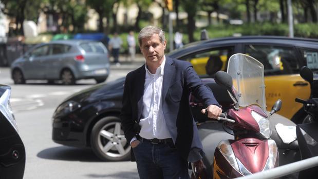 Alberto Fernández, fotografiado en Barcelona