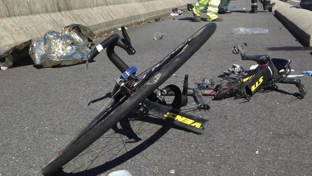 Atropello de ciclistas en Pontevedra