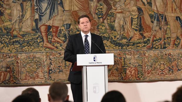 El presidente de Castilla-La Mancha en el toledano Palacio de Fuensalida