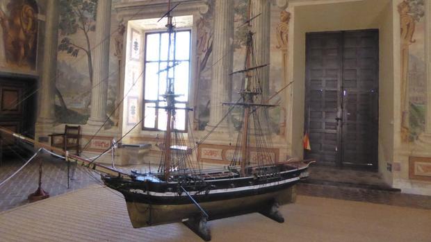 Palacio de los Marqueses de Santa Cruz, en Viso del Marqués, que alberga el Archivo General de la Marina