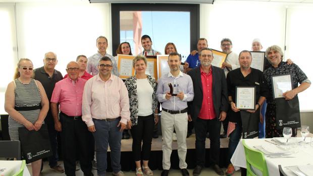Imatge dels guanyadors i les autoritats