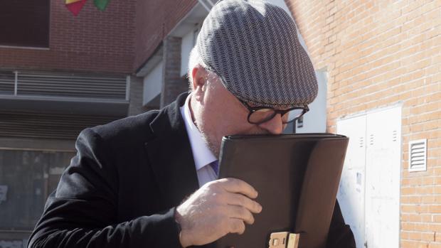 El comisario José Manuel Villarejo, en febrero del año pasado