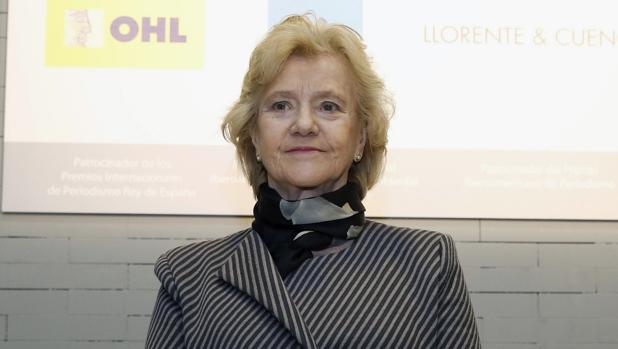 Soledad Becerril, el pasado mes de marzo