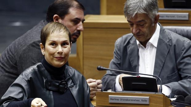Uxue Barkos, presidenta del Gobierno de Navarra