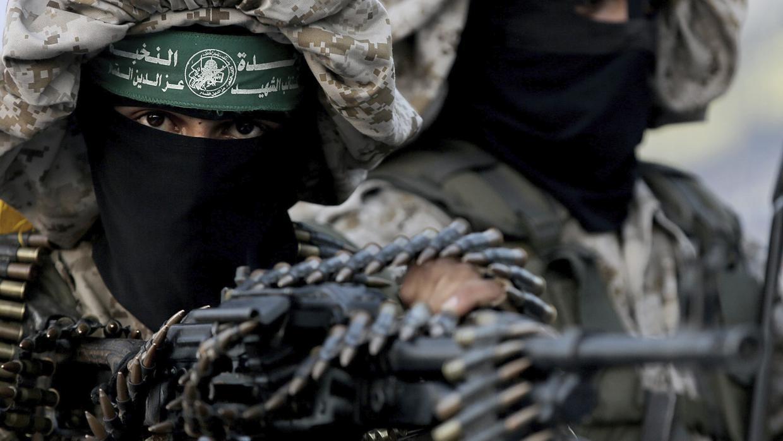 Se declaraba partidaria de Hamás (en la imagen, uno de sus combatientes), grupo terrorista palestino al que promocionaba en internet
