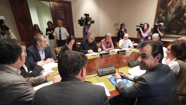 Reunión de la comisión de investigación el martes en el Congreso de los Diputados