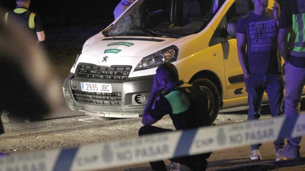 Resultado de imagen de muere policia local en la linea