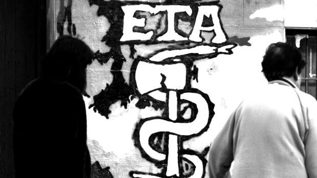 Imagen de archivo de una pintada callejera en favor de ETA