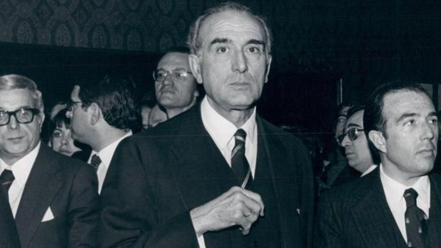 El democristiano Jooaquín Ruiz-Giménez, en una fotografía de 1978