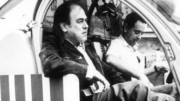 Jordi Pujol, en un helicóptero durante la campaña electoral de las generales de 1977