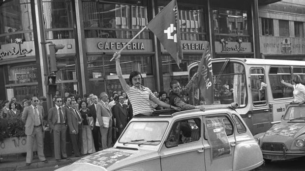 Entre 1976 y 1979 se registraron en España unos 150 partidos políticos