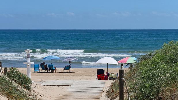 Imatge de la platja de Daimús