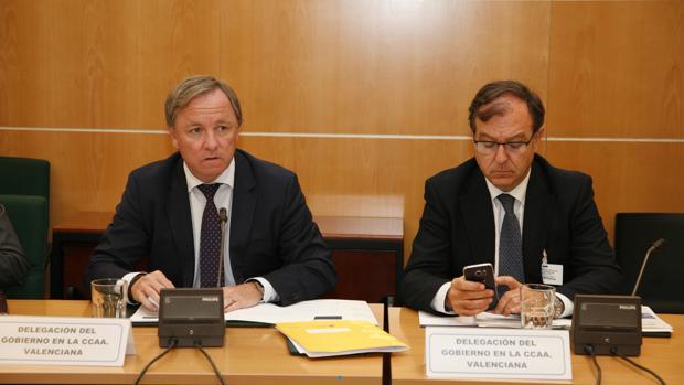 Imagen de Juan Carlos Moragues, delegado del Gobierno en la Comunidad Valenciana