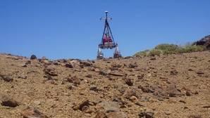 Vídeo: el curioso recorrido de un robot por el Teide en Tenerife