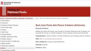 Imagen de la página web oficial de la Generalitat de Cataluña
