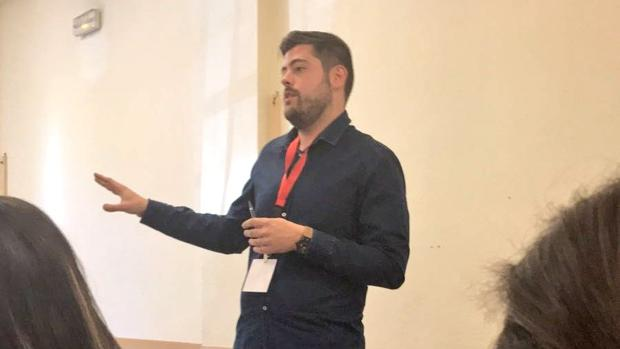 Alejandro Díaz, en un acto reciente
