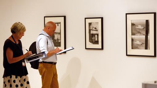 Imagen de la exposición del fotógrafo Robert Frank en el IVAM de Valencia