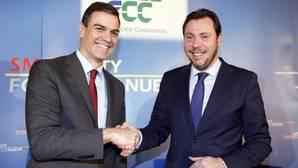 Pedro Sánchez y Óscar Puente, en una imagen de archivo