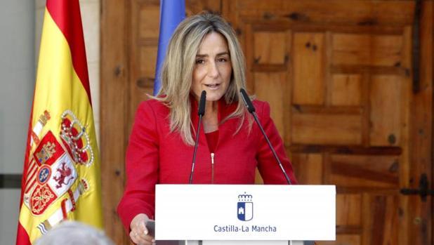 La alcaldesa de Toledo, Milagros Tolón