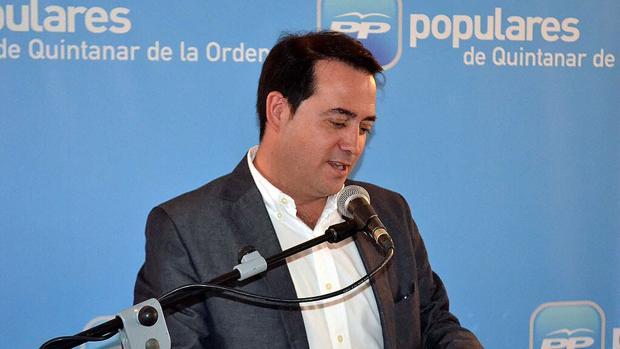 Carlos Madero, exalcalde de Quintanar de la Orden
