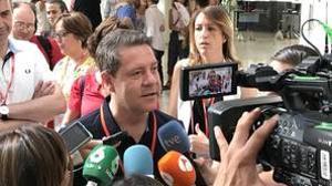 Page, este sábado, en el Congreso Federal del PSOE que se celebra en Madrid
