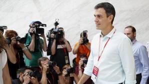 Pedro Sánchez, este sábado en el 39 Congreso Federal del PSOE
