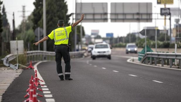 Control de la Guardia Civil en la Comunidad Valenciana