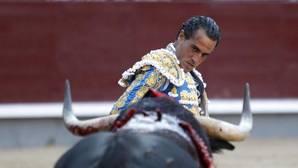 Iván Fandiño, en la plaza de toros de Las Ventas de Madrid durante la última Feria de San Isidro