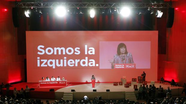 Cristina Narbona, en el Congreso del PSOE