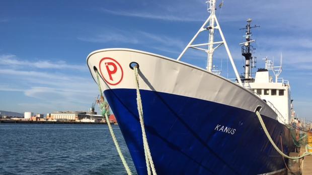 El Kanus es uno de los 72 buques que componen la flota del Grupo Nueva Pescanova