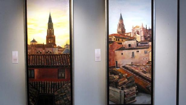 Dos vistas de la catedral de Toledo