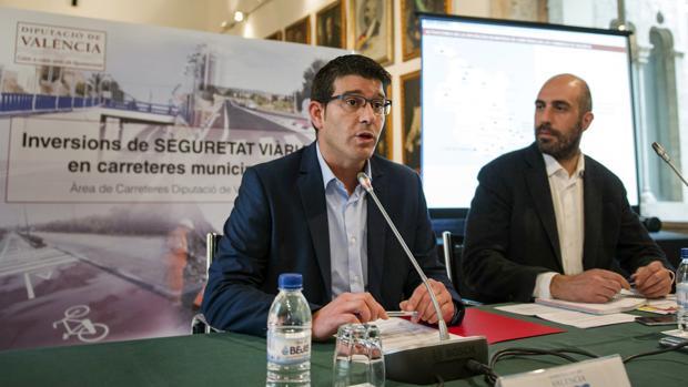 Imagen de Jorge Rodríguez en la presentación del convenio