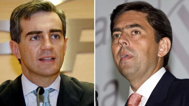 Ricardo Costa y Vicente Rambla, dos de los encausados